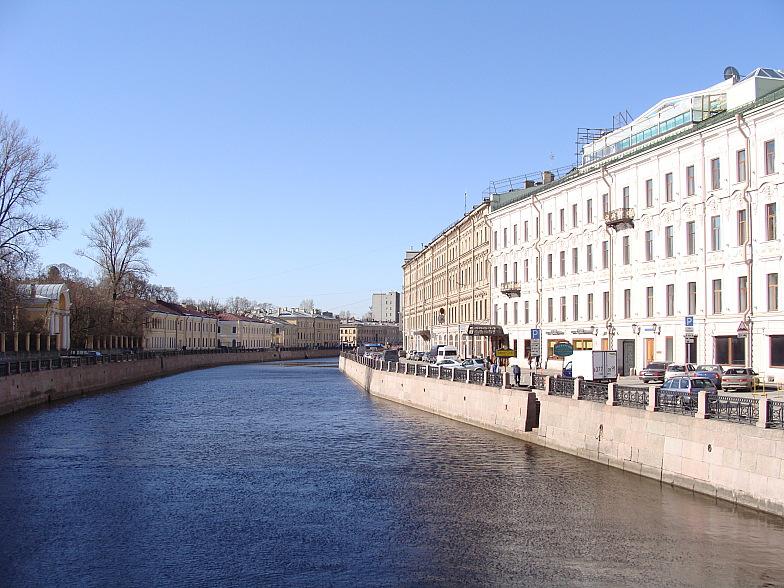 Река Мойка.