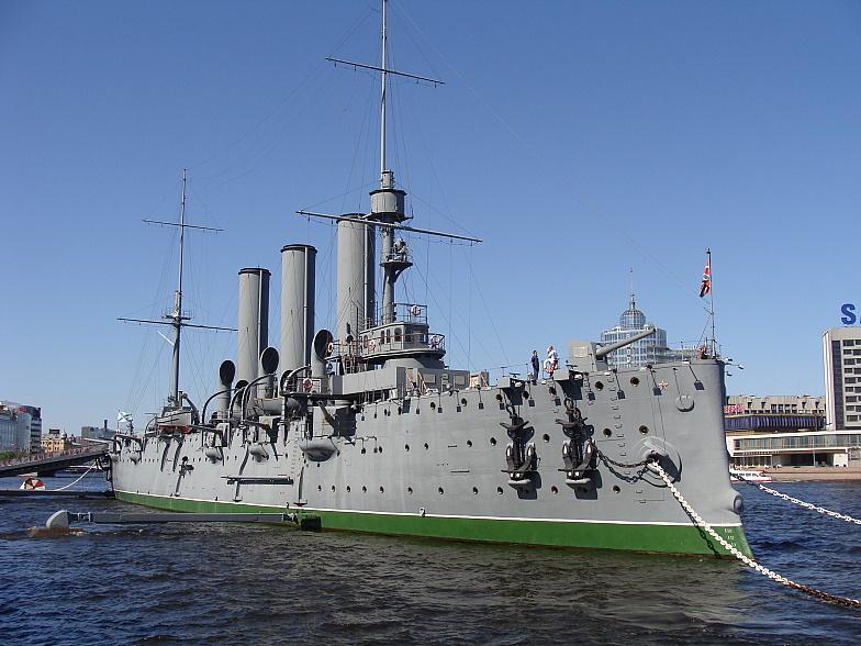 Крейсер Аврора.