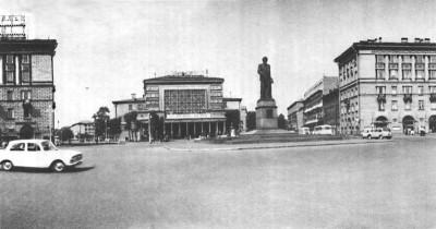 Площадь Калинина в Ленинграде