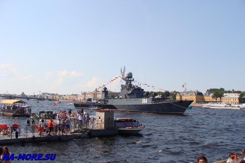 День ВМФ 2014. Нева. Корабли.