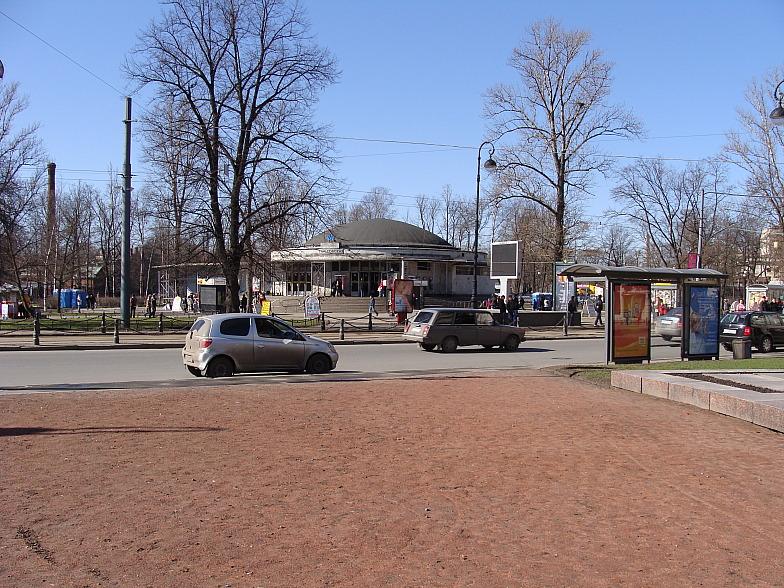 Станция метро Горьковская до ремонта.