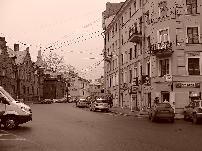 Петроградская. Съезжинская улица.