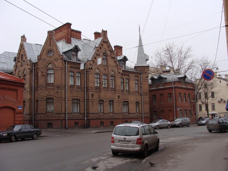 Петроградская. Съезжинская улица, д.3