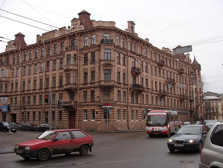 Петроградская. Съезжинская улица, д.11