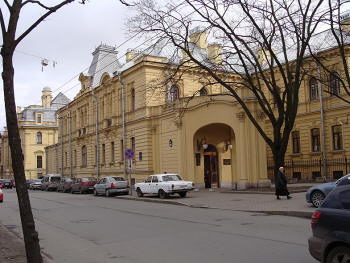 Петроградская. Большая Монетная (Скороходова) ул., д.17