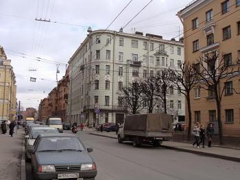 Большая Монетная улица 21, угол Малой Монетой