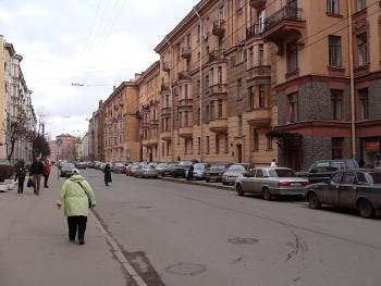 Петроградская. Большая Монетная улица.